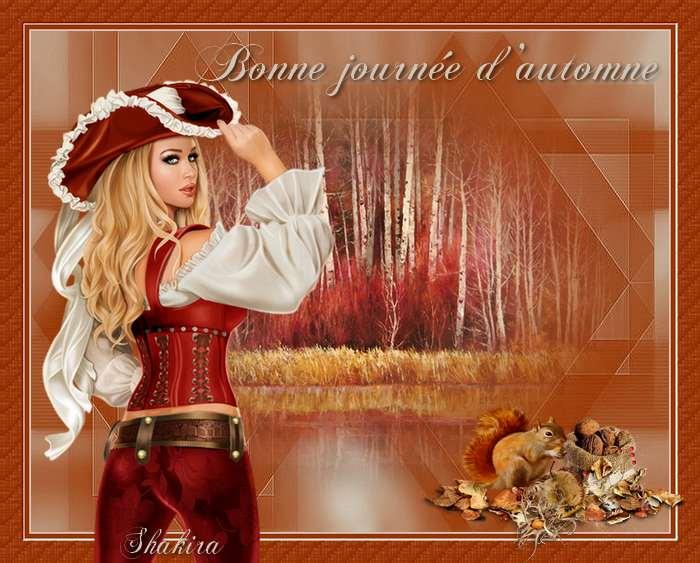 Bienvenus sur mon blog automne