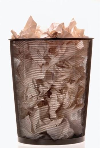 office-waste-paper-bin-full