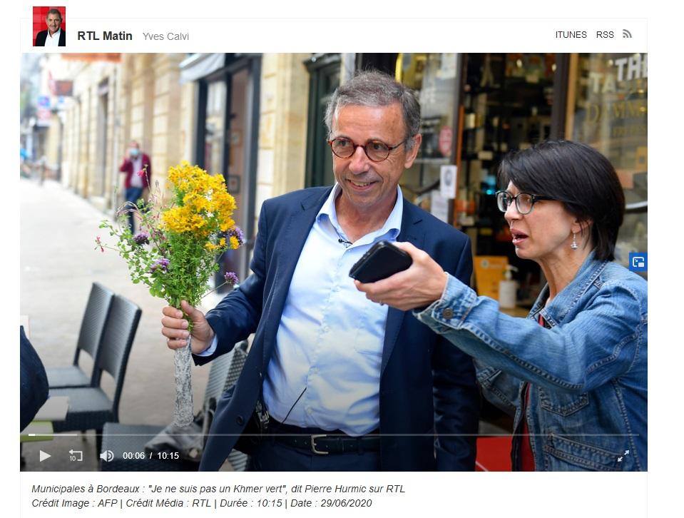 Bordeaux >>> le nouveau maire élu se positionne clairement contre la 5G