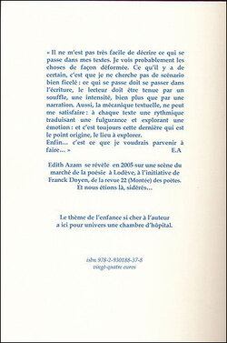 L'écharpe douce aux yeux de soie : Nouvelle - d'Edith Azam