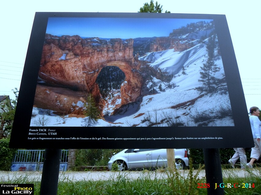 EXPOSITION PHOTO  LA  GACILLY  56  31/07/2014