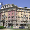 Architecture dans les beaux quartiers de Gênes