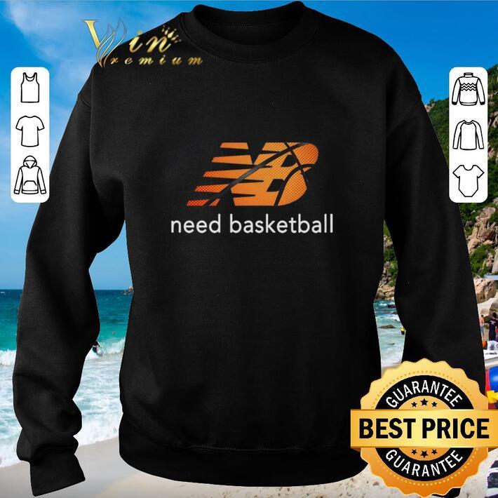 Official New Balance Need Baketball shirt
