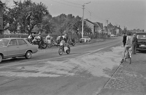 Concentration Cheval d'Acier 1972 à Bruges