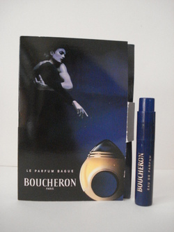 BOUCHERON TUBE ECHANTILLON