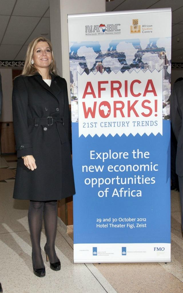 Maxima et l'Afrique