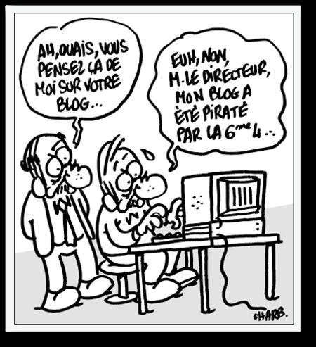 70 dessins de CHARB pour les Cahiers Pédagogiques
