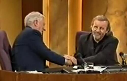 Late Late Show 6 Février 1998  - Gay Byrne - Colm Wilkinson