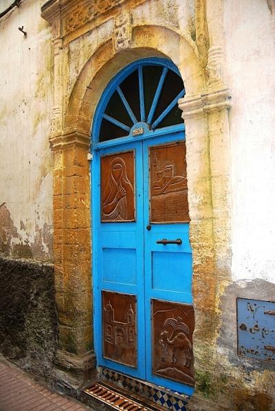 Façades, portes et Fenetres d'Essaouira