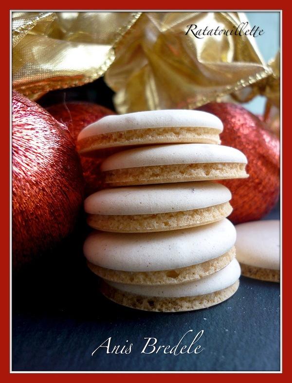 Petits gâteaux de Noël 1 : Anis Bredele (macarons à l'anis)
