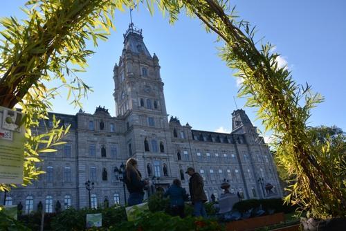 Quebec, l'hôtel du Parlement