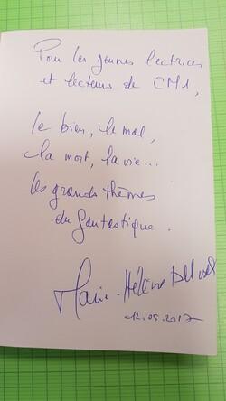 Notre rencontre avec Marie-Hélène Delval