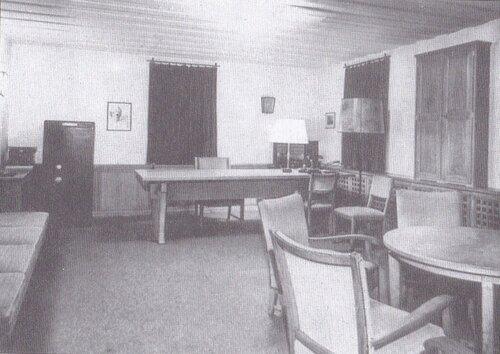 le bureau de Hitler