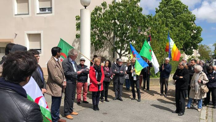 Rennes. « L'autre 8-Mai » commémoré, square de Sétif