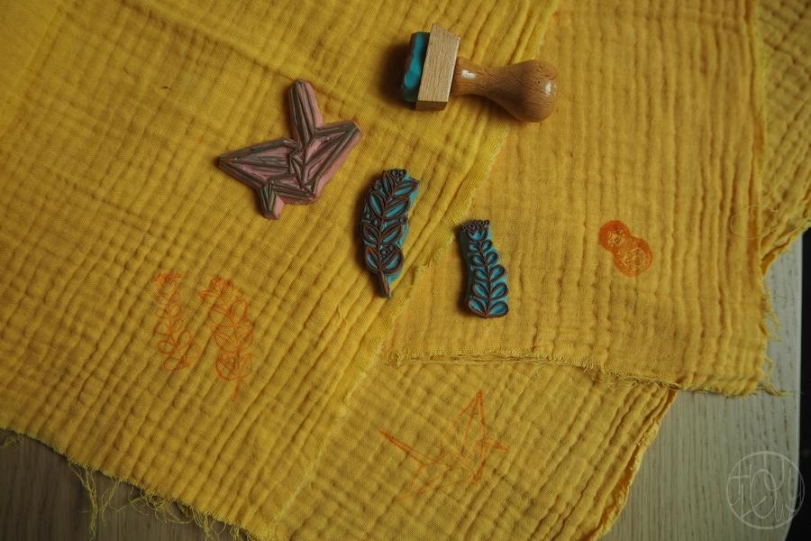 DIY - Tuto : Coudre des doudous et les teindre naturellement