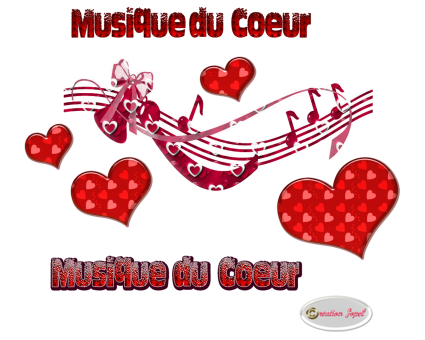 """Défi """"La musique du coeur"""" chez Arlette +cadeau par Jopel"""