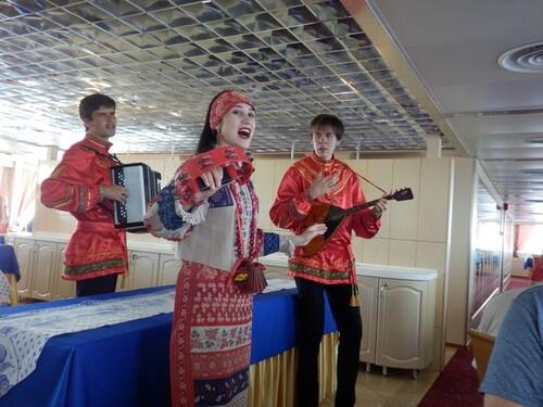 Croisière Russie- Jour 4- Activités à bord