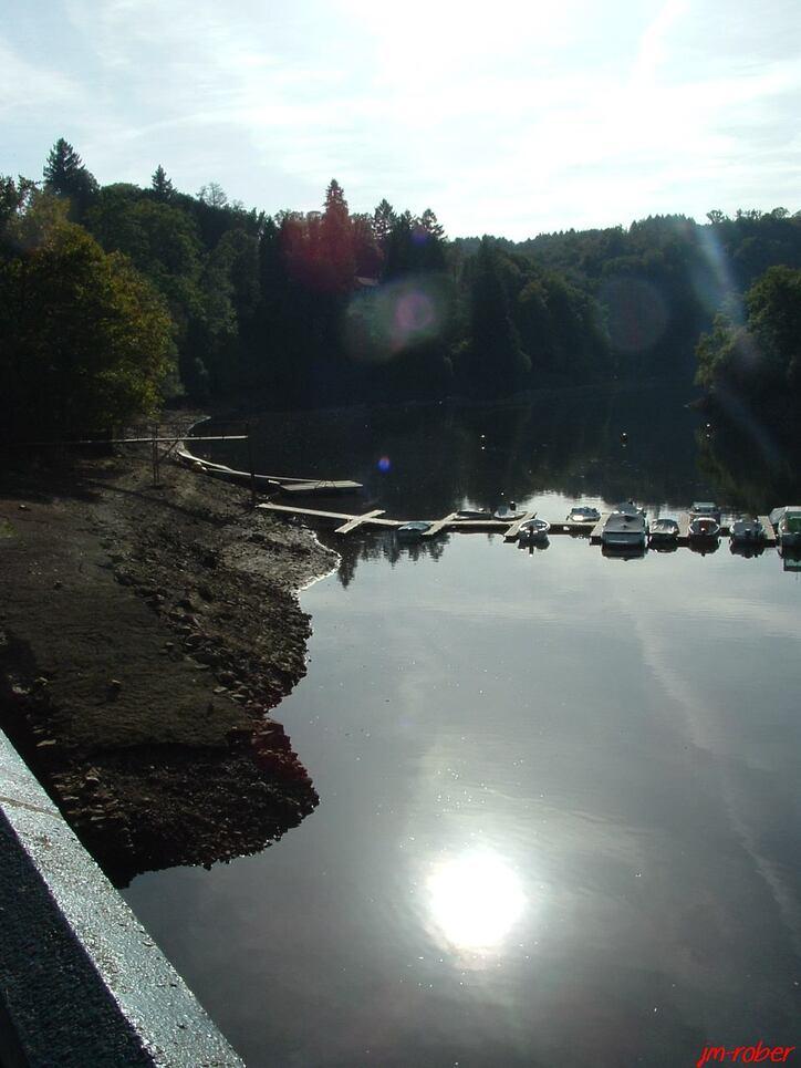 Haute-vienne: Le pont du Dognon et le barrage Saint Marc