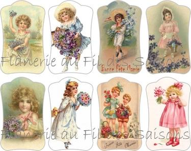 Cartonnettes Bonne Fête Mamie !
