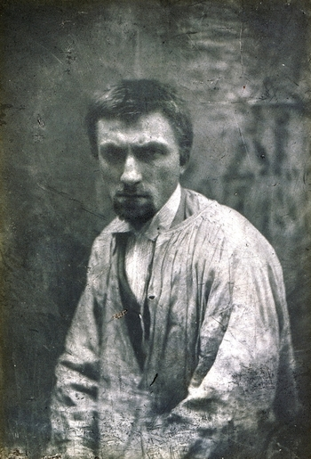 Auguste Rodin, Paris, c1862 by Charles Hippolyte Aubry
