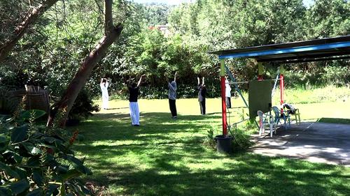 Cours de Tai Chi & Qi Qong au Jardin d'Hikuri