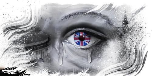 dessin de JERC jeudi 25 mai 2017 caricature attentat Manchester Solidarité avec les Mancuniens et les migrants. www.facebook.com/jercdessin