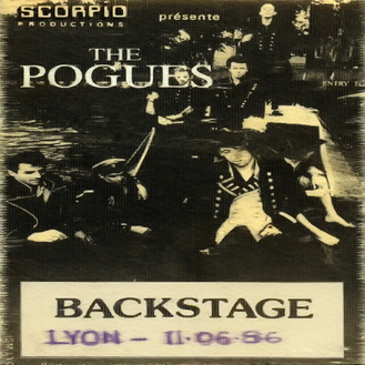 Live: The Pogues - Vaux en Velin - 11 juin 1986