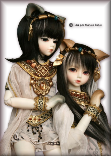 Tubes dolls 2970