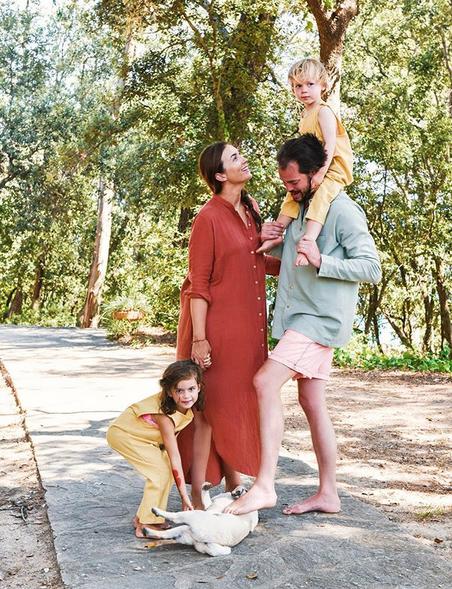 Felix du Lusembourg et sa famille