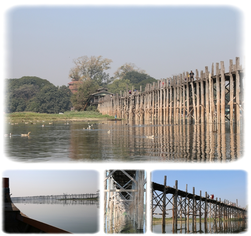 Jour 3 - De retour au pont U Bein et Mandalay