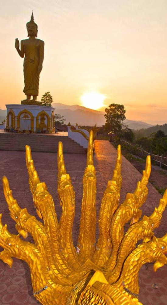 Oudomxay, le bouddha sur la colline