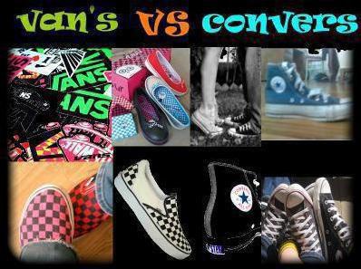 vans vs converses