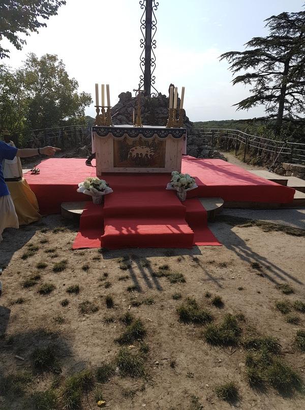 Messe du 15 août à Rocamadour