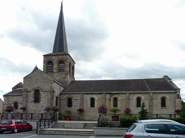 L'église Notre-dame de Domérat