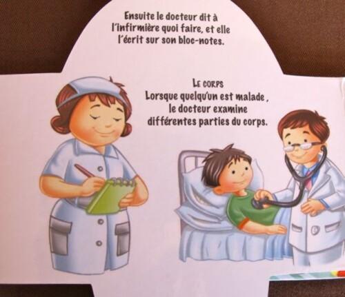 livre enfant sexiste infirmière