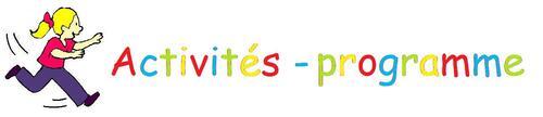 Activités - programme