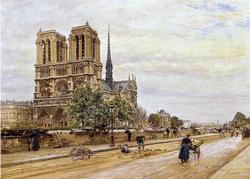 Vendredi Saint - méditation à ND de Paris