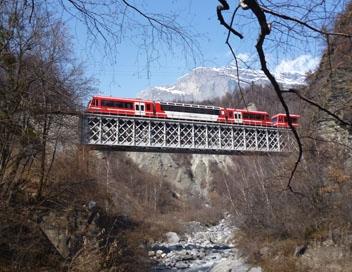 Un billet de train pour le mont blanc