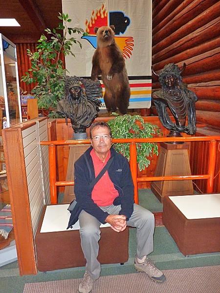 Jour 16 Banff musée Luxton Norbert