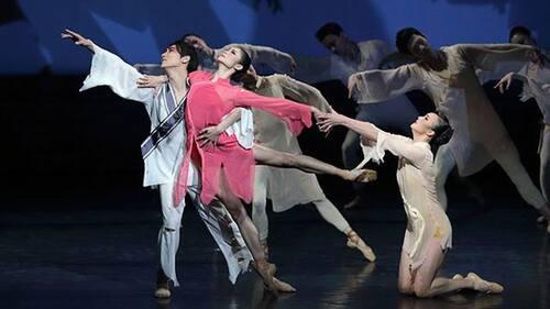 dance ballet raise the red lantern chinese ballet