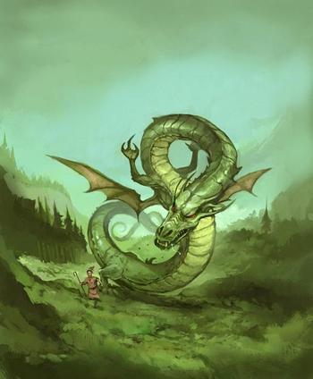 le dragon bolla