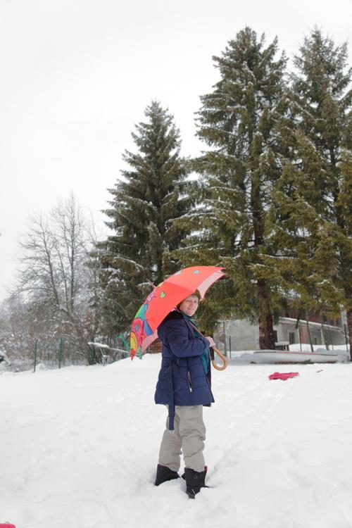 Parapluies globe-trotters...