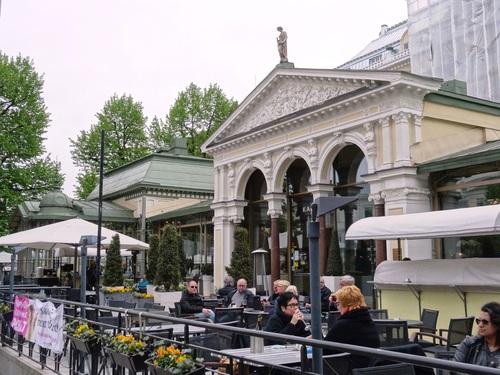 Helsinki en Finlande: promenade sur l'Esplande (photos)