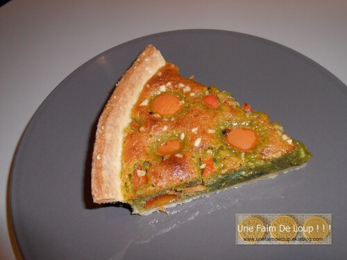 Tarte aux abricots & crème de pistache