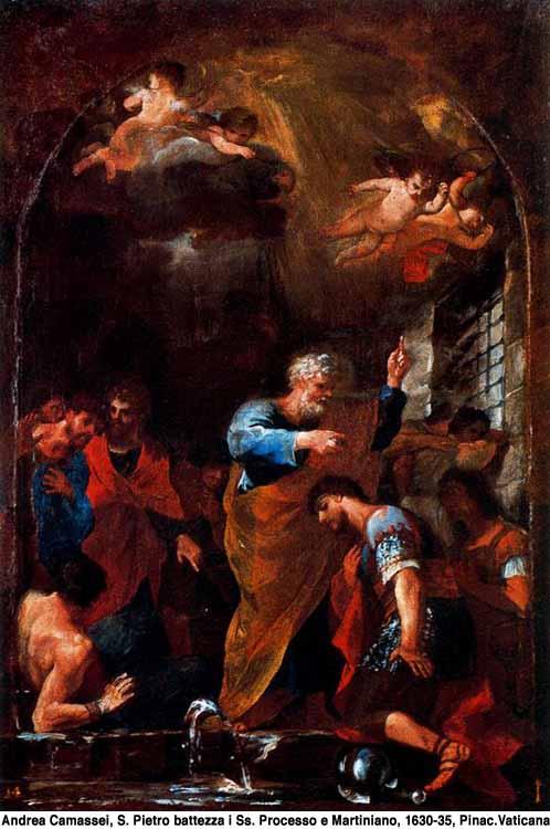 Saint Martinien de Rome. Martyrisé au Ier siècle (1er s.)