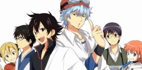 Crossover Gintama x Sket Dance