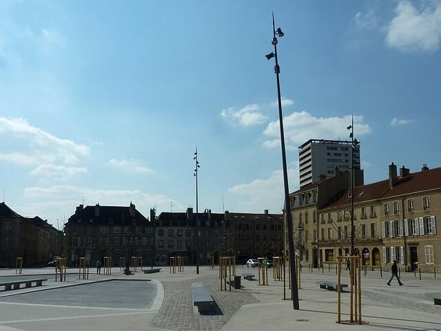Metz les nouvaux réverbères 2 Marc de Metz 15 04 2013