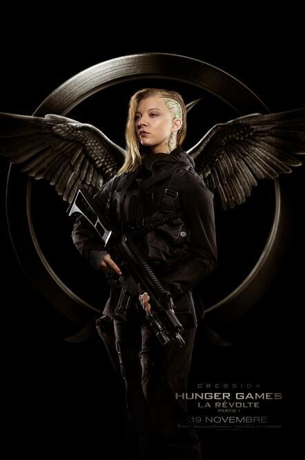 Hunger Games 3, La Révolte, partie 1, Natalie Dormer, Cressida, district 13, District 8, Capitol, film, documentaire, Katniss Everdeen, Poster