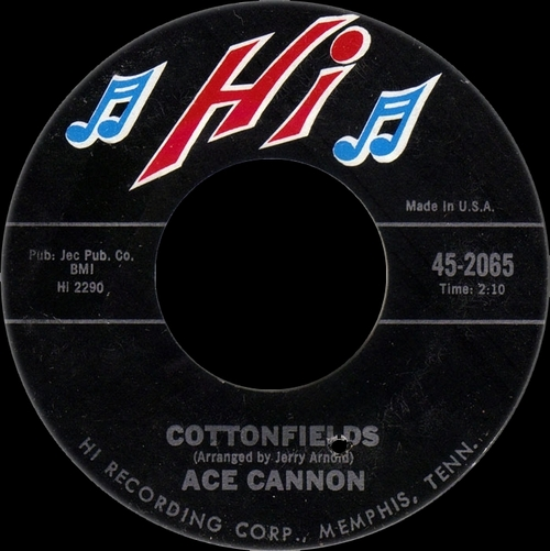 "Ace Cannon : Album "" The Moanin' Sax Of Ace Cannon "" Hi Records SHL 32014 [ US ]"