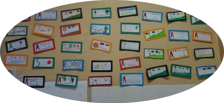 lettrines : vocabulaire et arts visuels